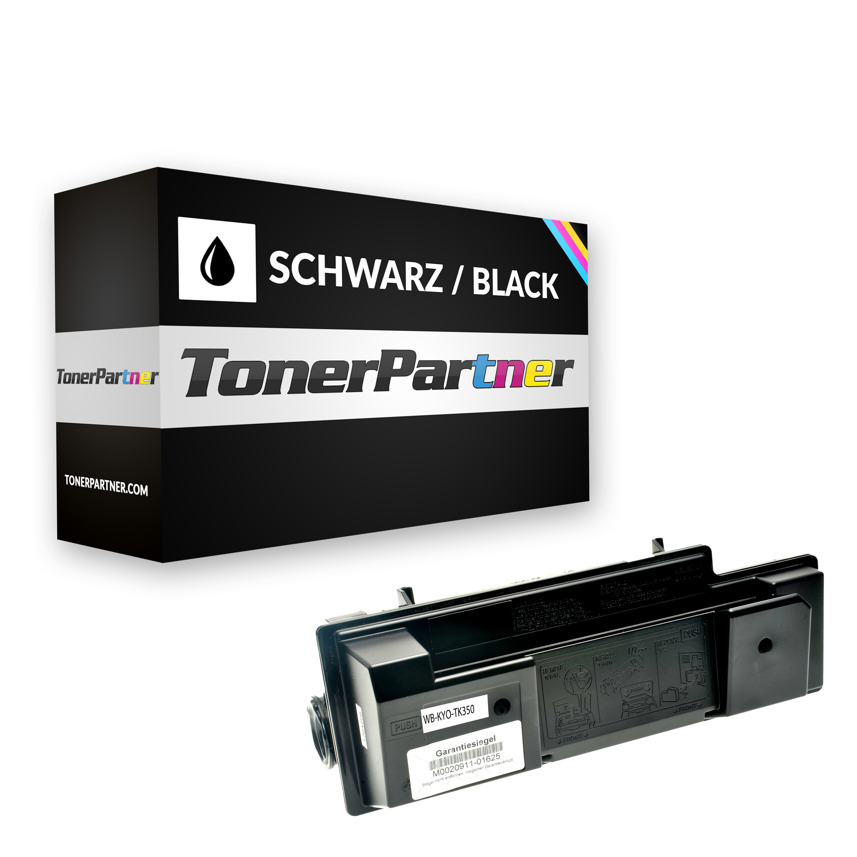 Compatible to Kyocera 1T02J10EU0 / TK350 Toner black