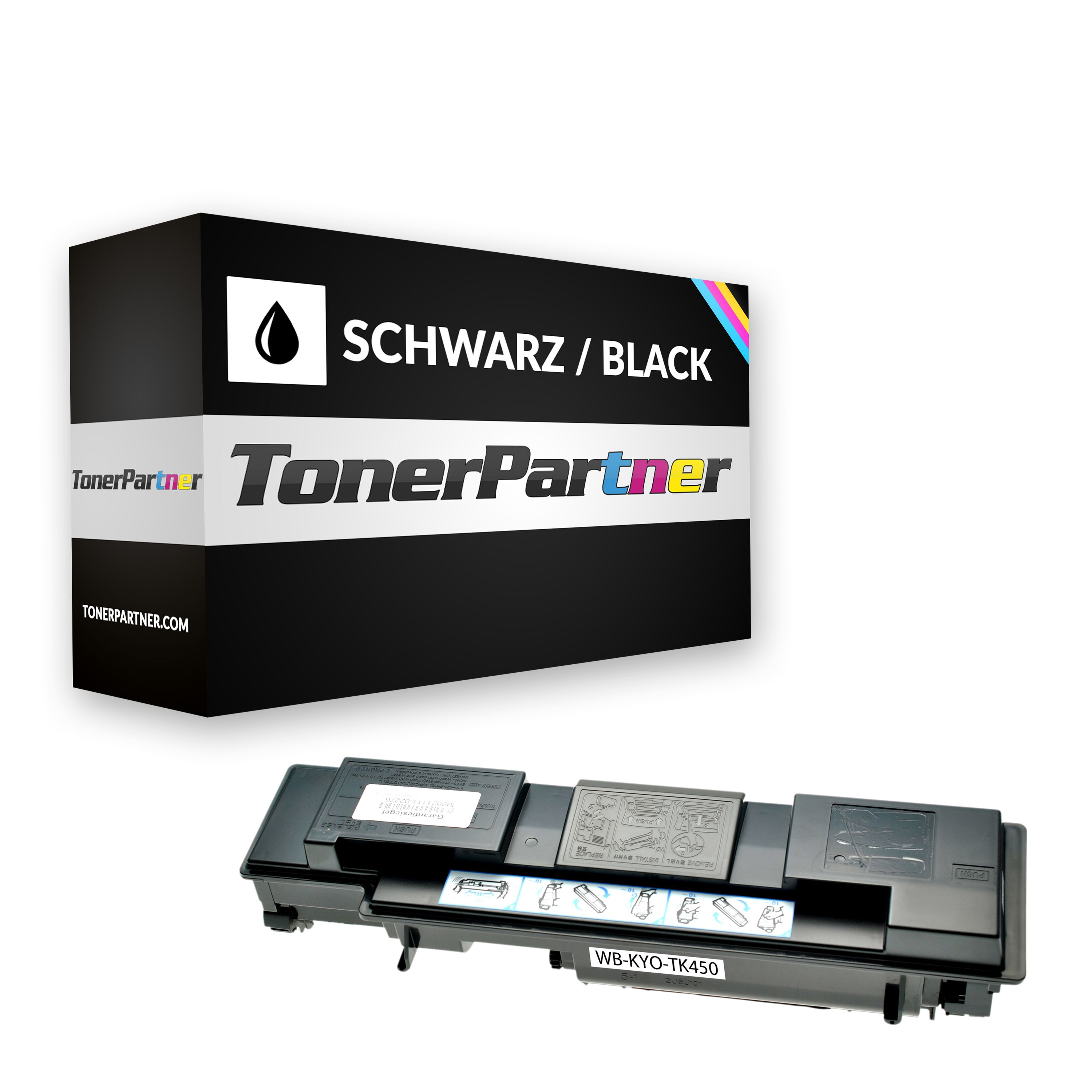 Alternative à Kyocera 1T02J50EU0 / TK-450 Toner noir