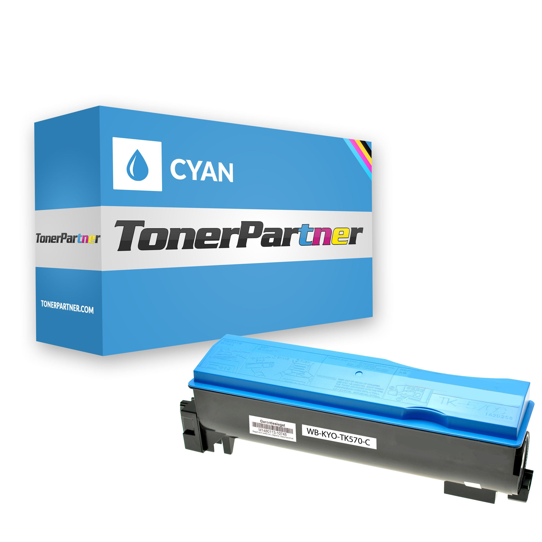 Kompatibel zu Kyocera/Mita 1T02HGCEU0 / TK570C Toner cyan