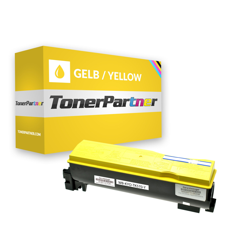 Kompatibel zu Kyocera/Mita 1T02HGAEU0 / TK570Y Toner gelb