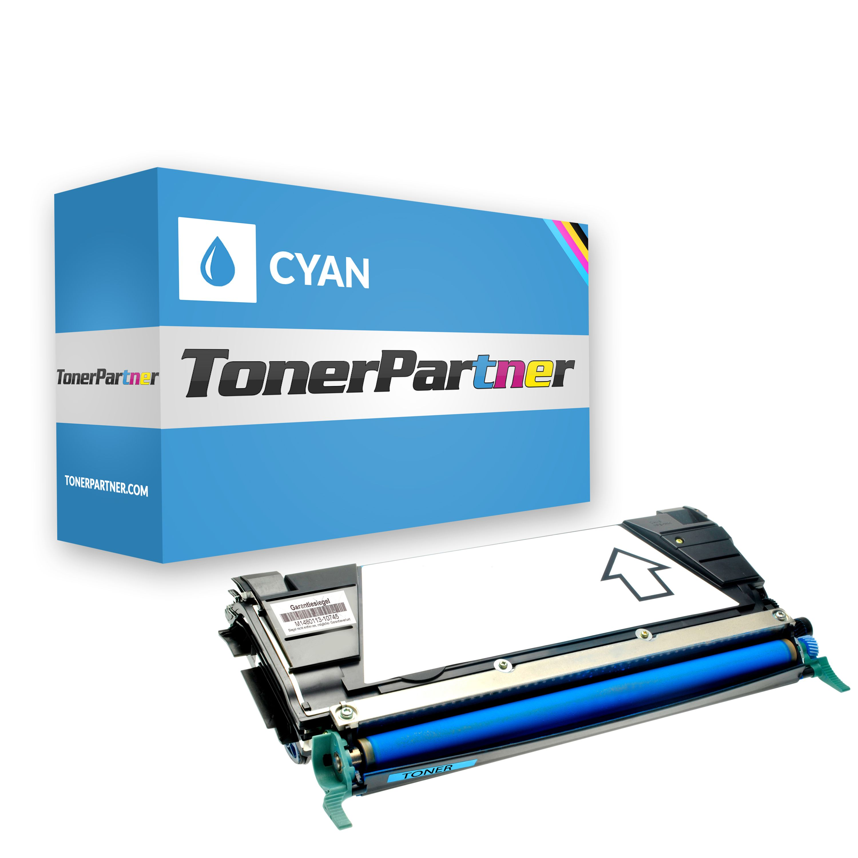 Kompatibel zu Lexmark 0C734A2CG Toner cyan