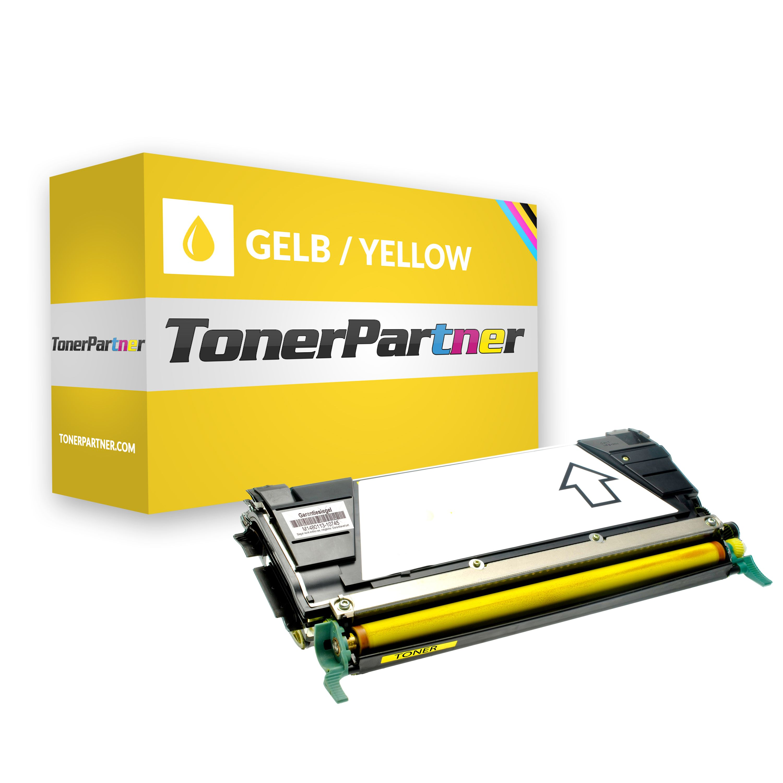 Kompatibel zu Lexmark 0C734A2YG Toner gelb