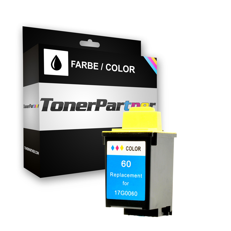 Kompatibel zu Lexmark 017G0060E / NO 60 Tintenpatrone Color