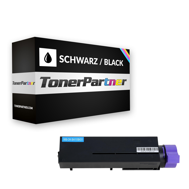 Kompatibel zu OKI 44574702 / B411 Tonerkartusche, schwarz