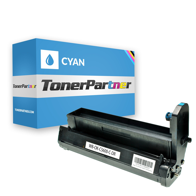 Kompatibel zu OKI 43870007 / C5650 Trommel cyan