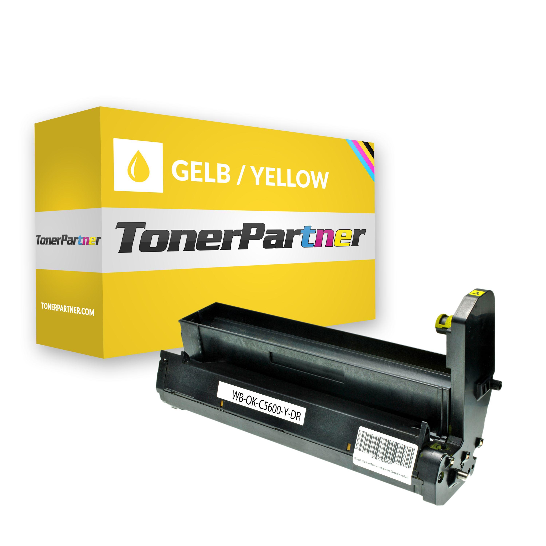 Kompatibel zu OKI 43870005 / C5650 Trommel gelb