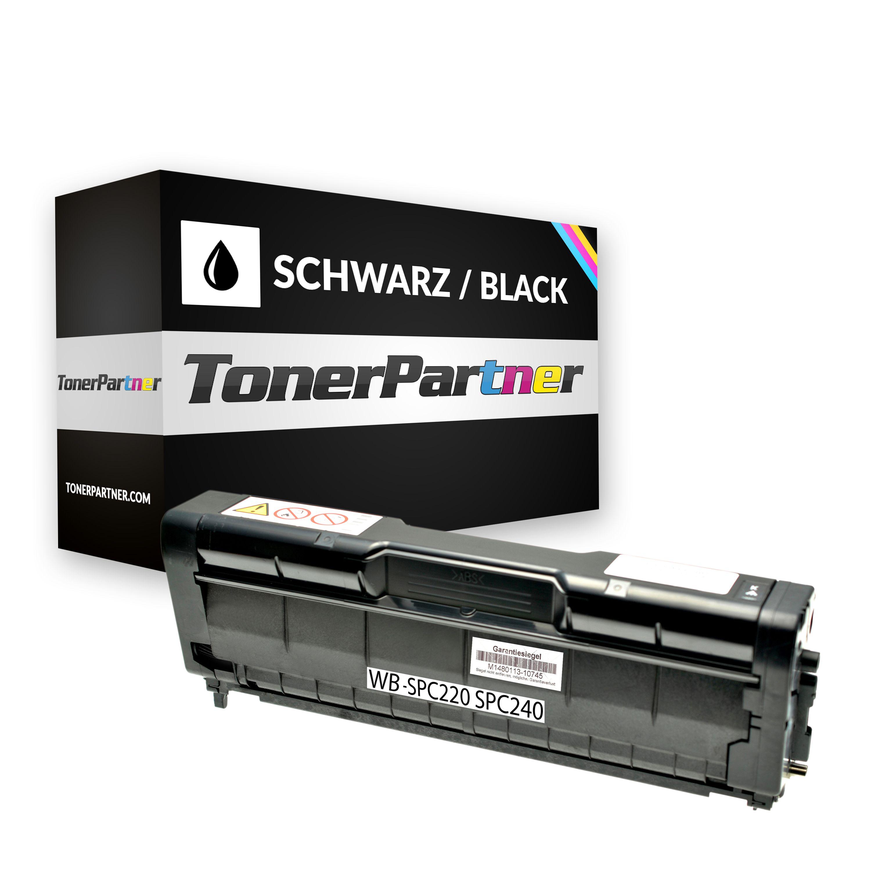 Kompatibel zu Ricoh 406094 Toner schwarz