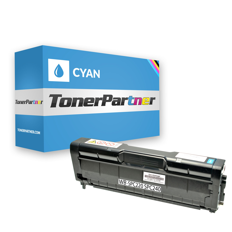 Kompatibel zu Ricoh 406097 Toner cyan