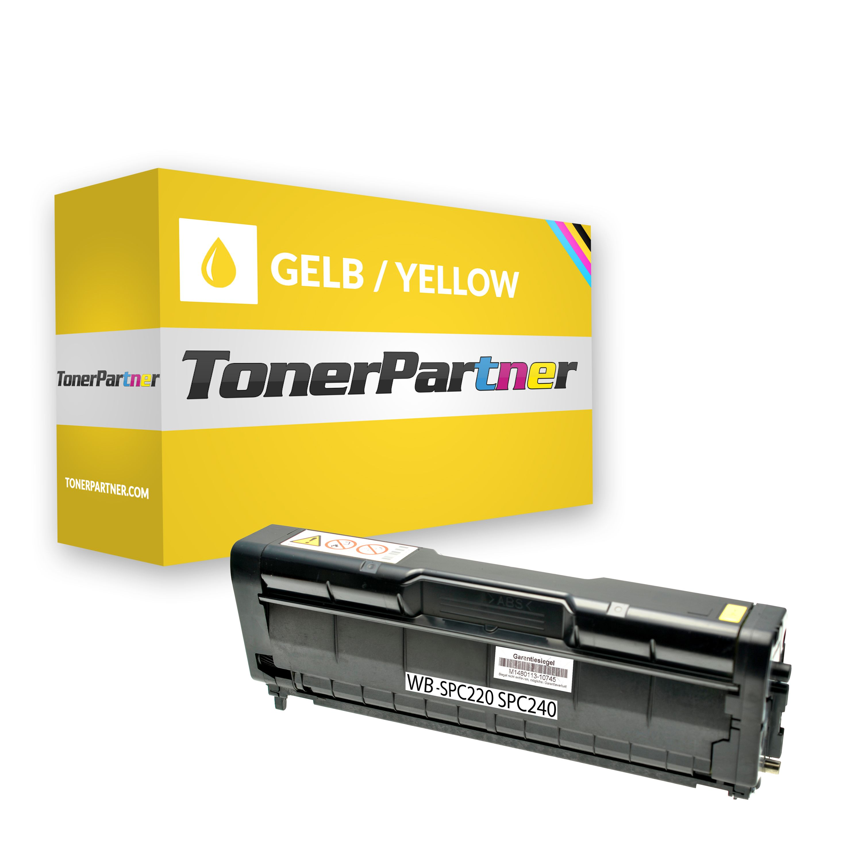 Kompatibel zu Ricoh 406106 Toner gelb