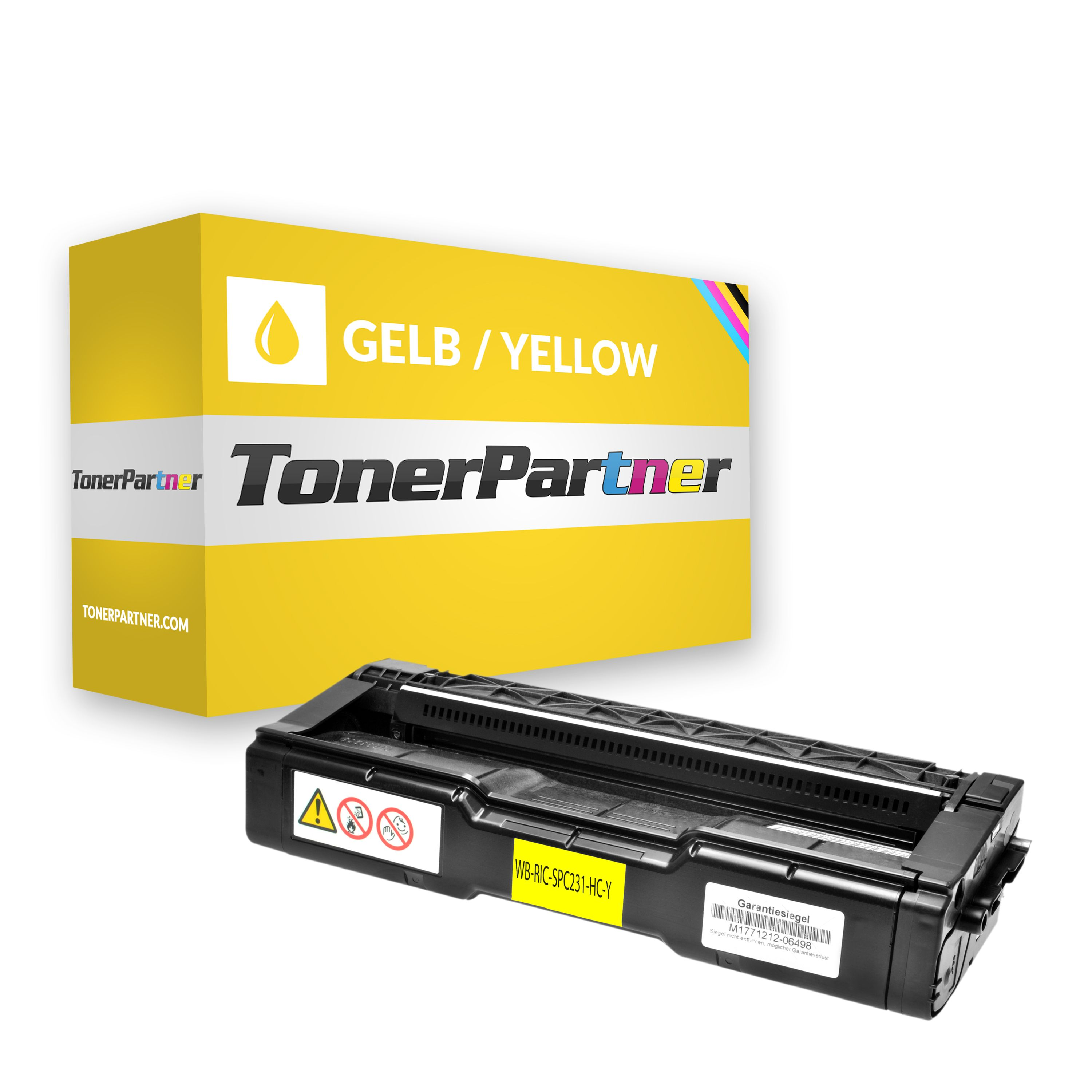 Alternative à Ricoh 406482 / TYPE SPC 310 HE Toner jaune