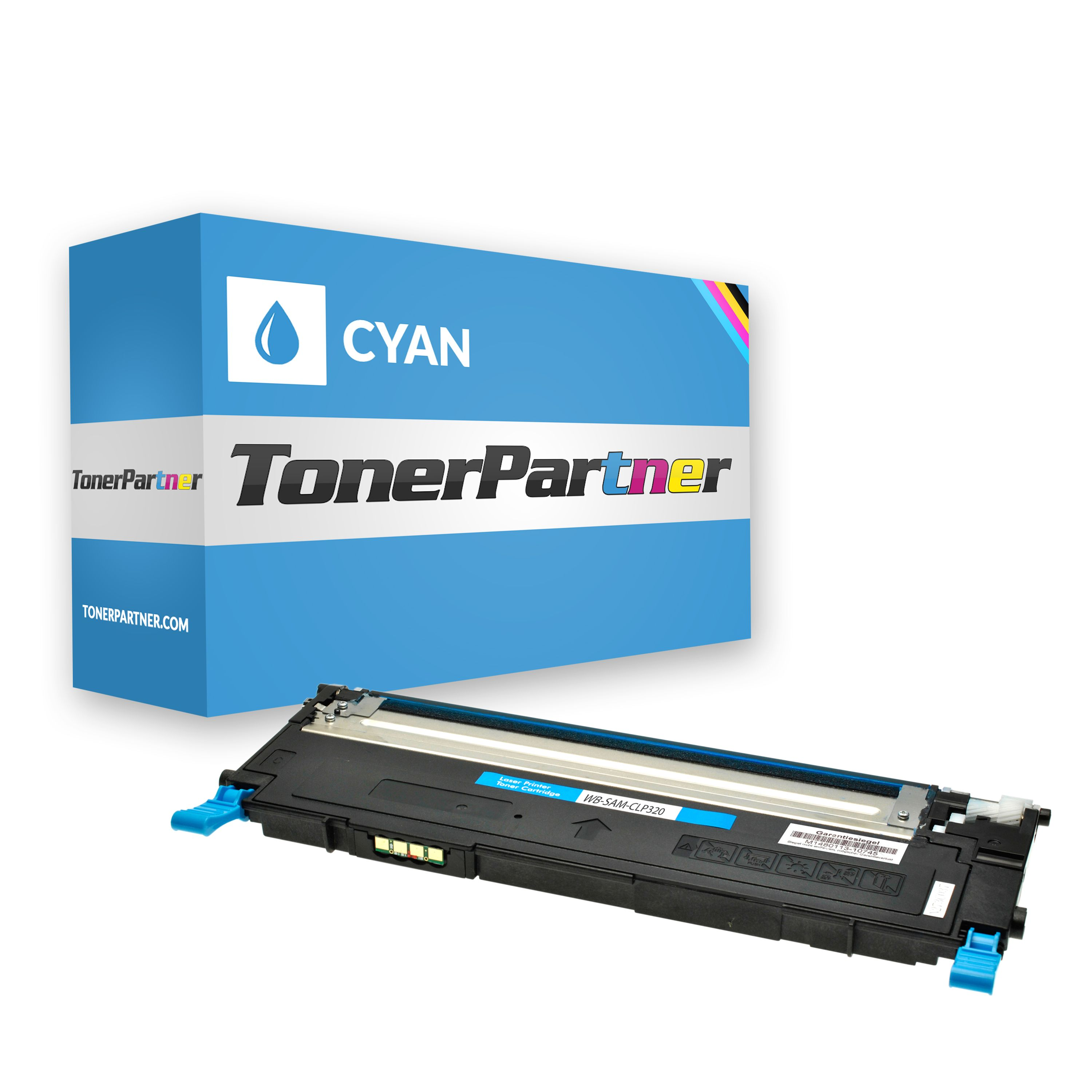 Compatible to Samsung CLTC4072SELS / C4072S Toner cyan