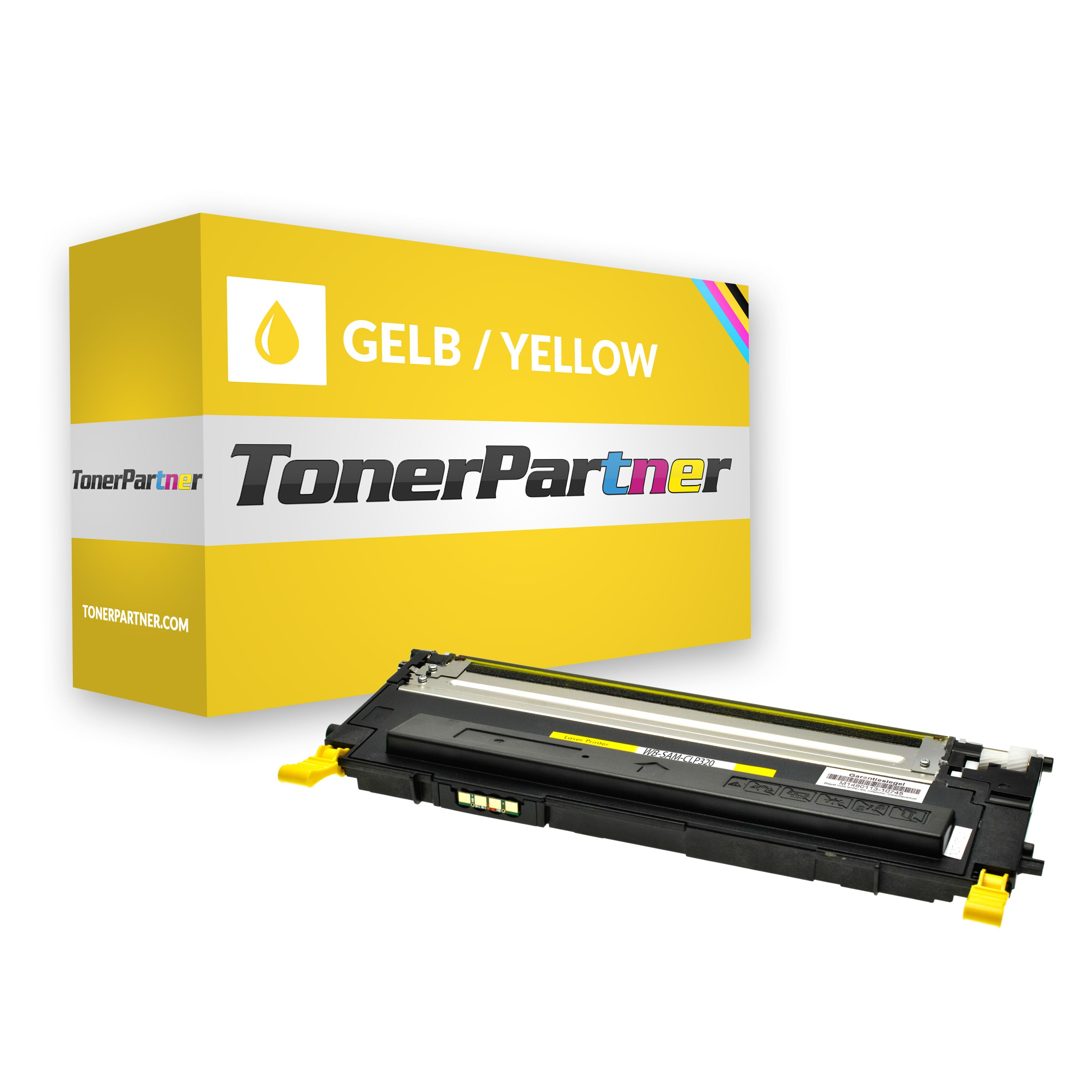 Compatible to Samsung CLTY4072SELS / Y4072S Toner yellow