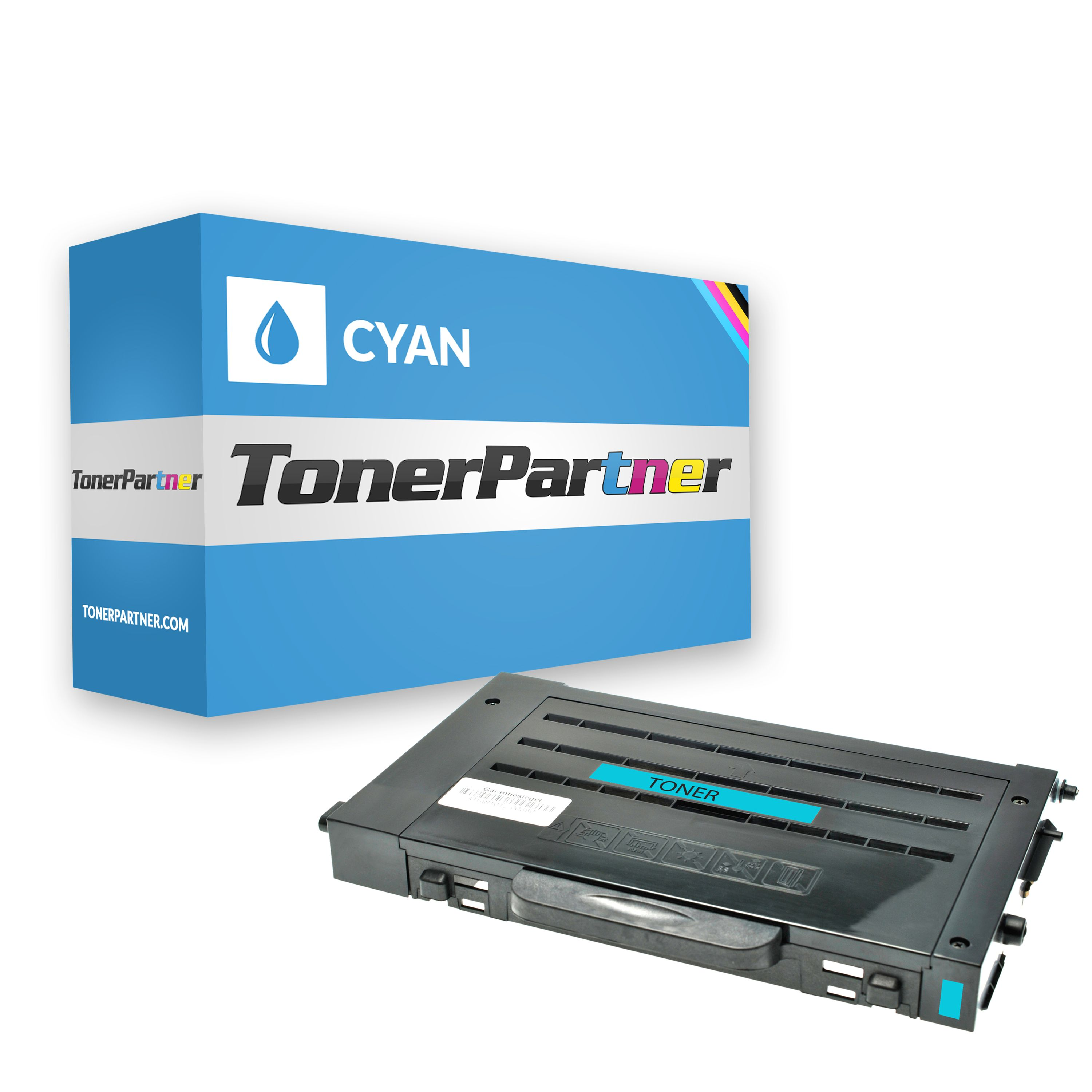 Compatible to Samsung CLP510D5CELS Toner cyan