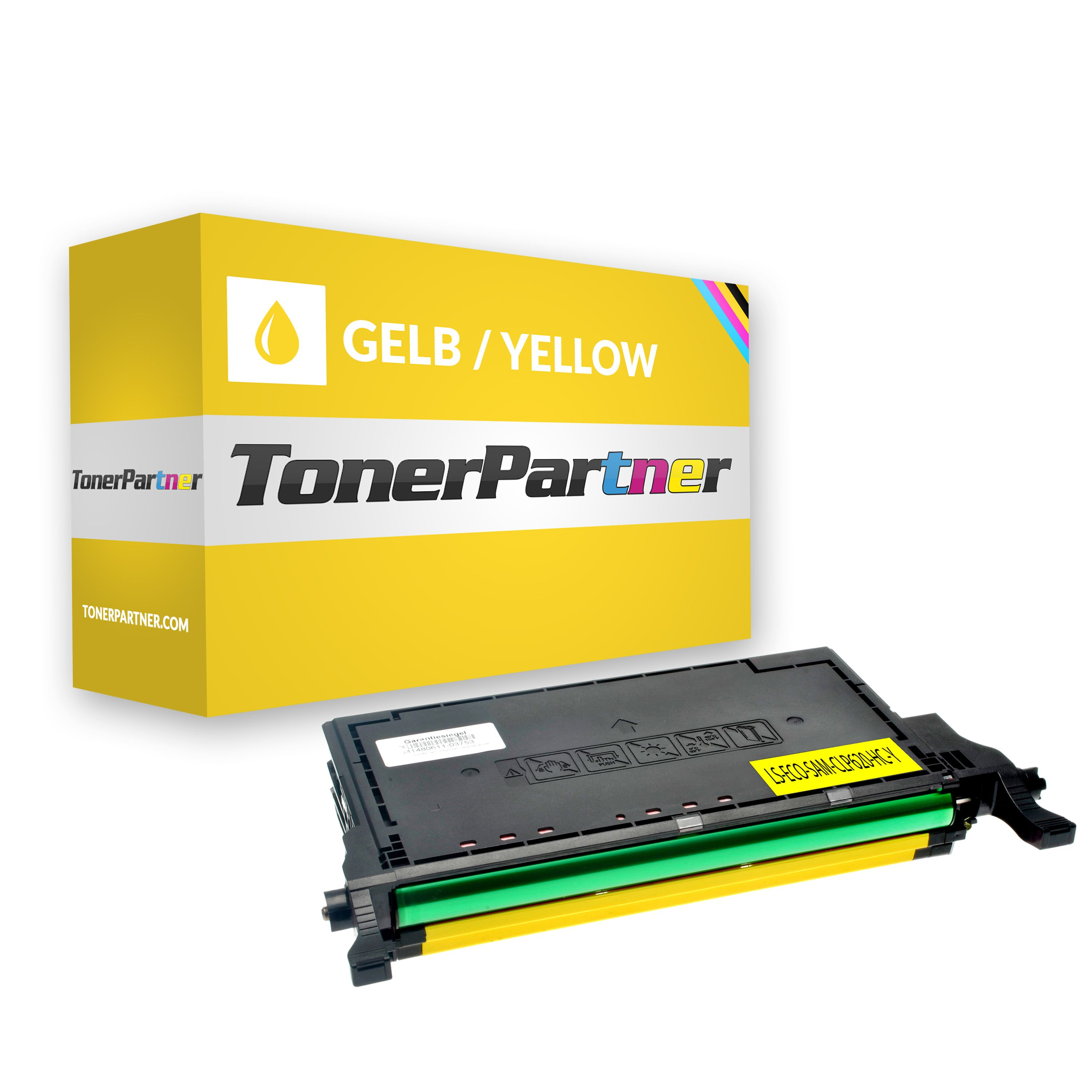 Compatible to Samsung CLTY5082LELS / Y5082L Toner yellow