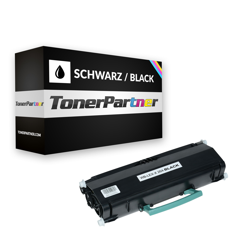 Alternativo a Lexmark X264H11G Tóner negro