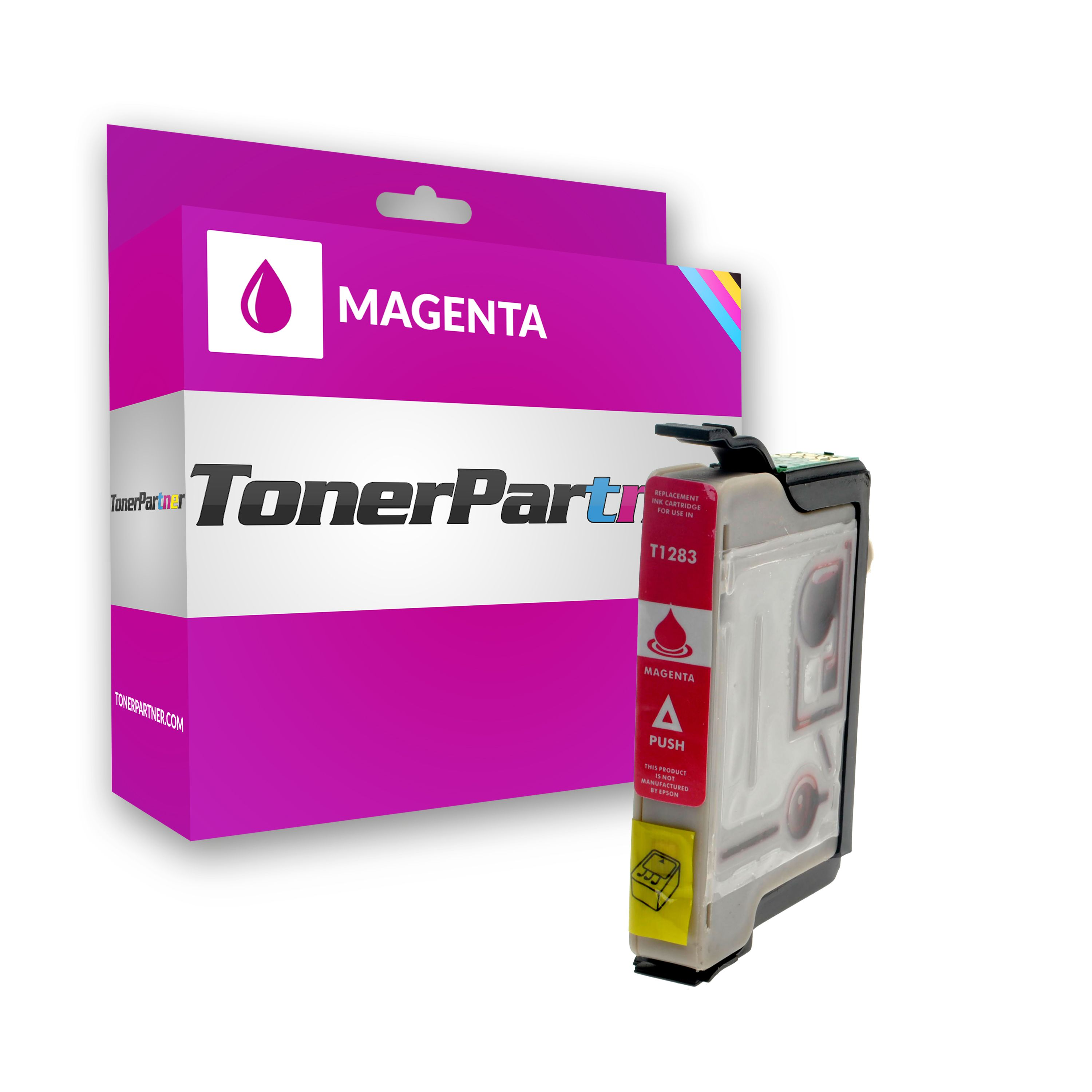 Compatible to Epson C13T12834011 / T1283 Ink cartridge magenta
