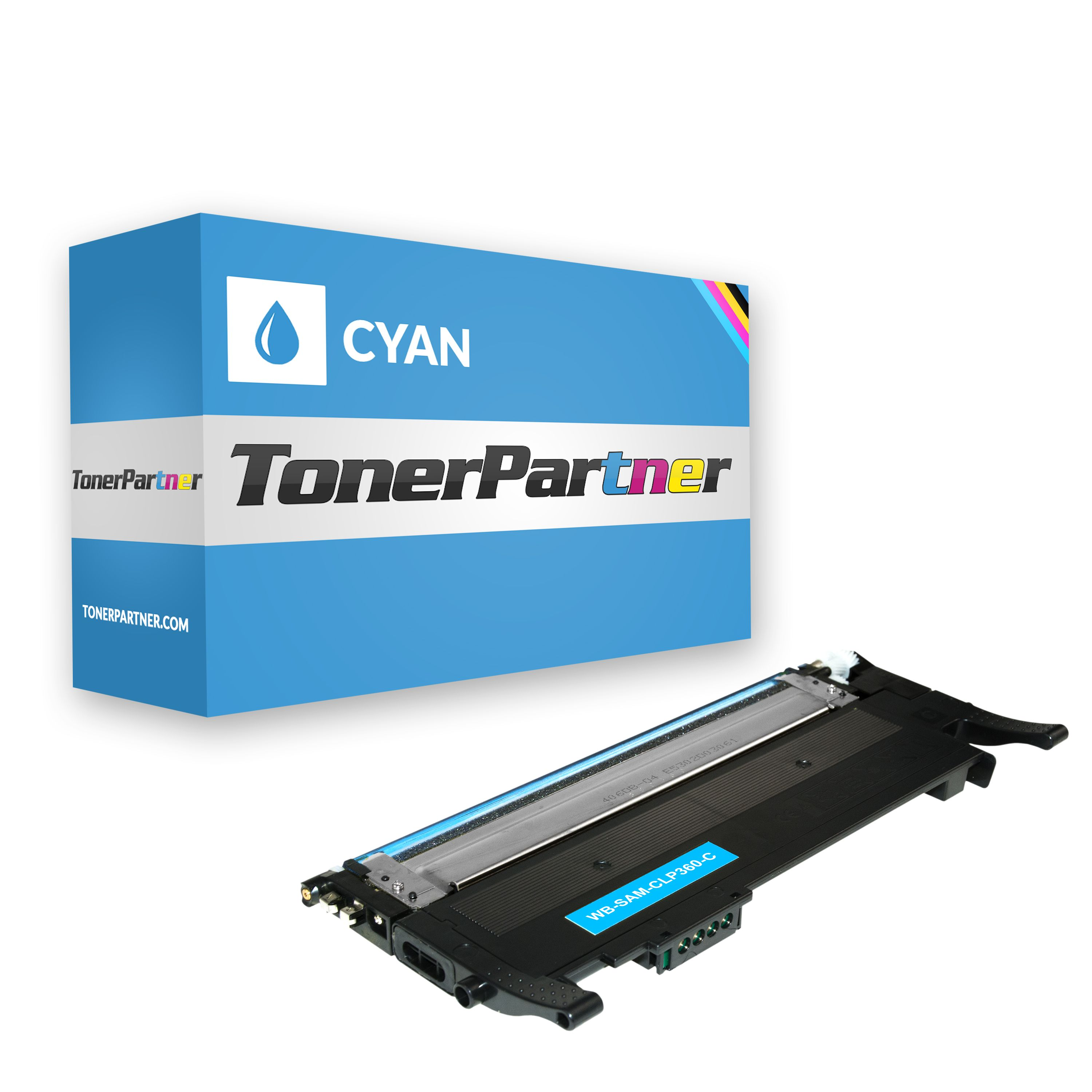Compatible to Samsung CLTC406SELS / C406 Toner cyan