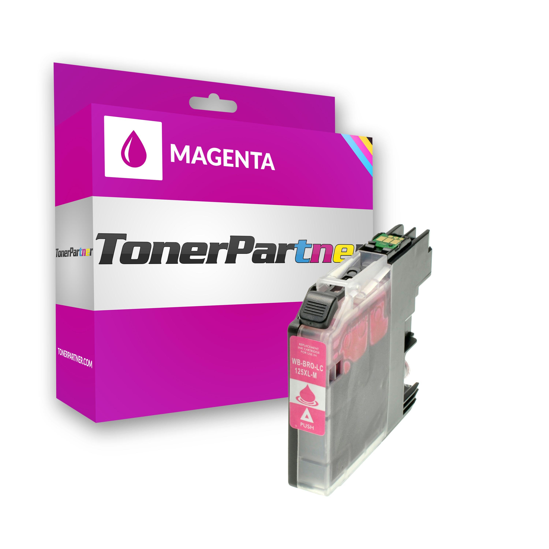 Kompatibel zu Brother LC125XLM Tintenpatrone magenta