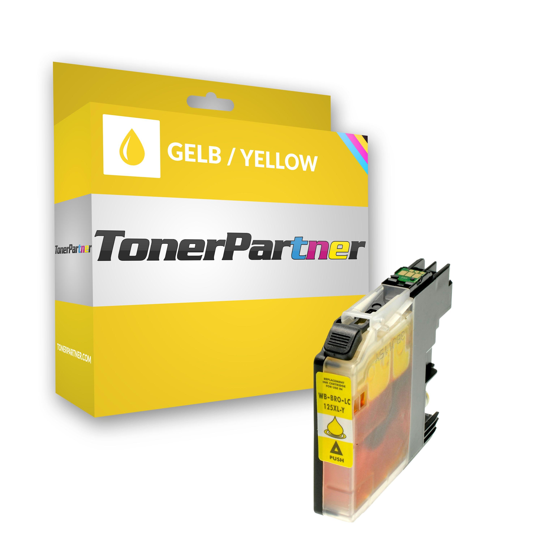 Kompatibel zu Brother LC125XLY Tintenpatrone gelb