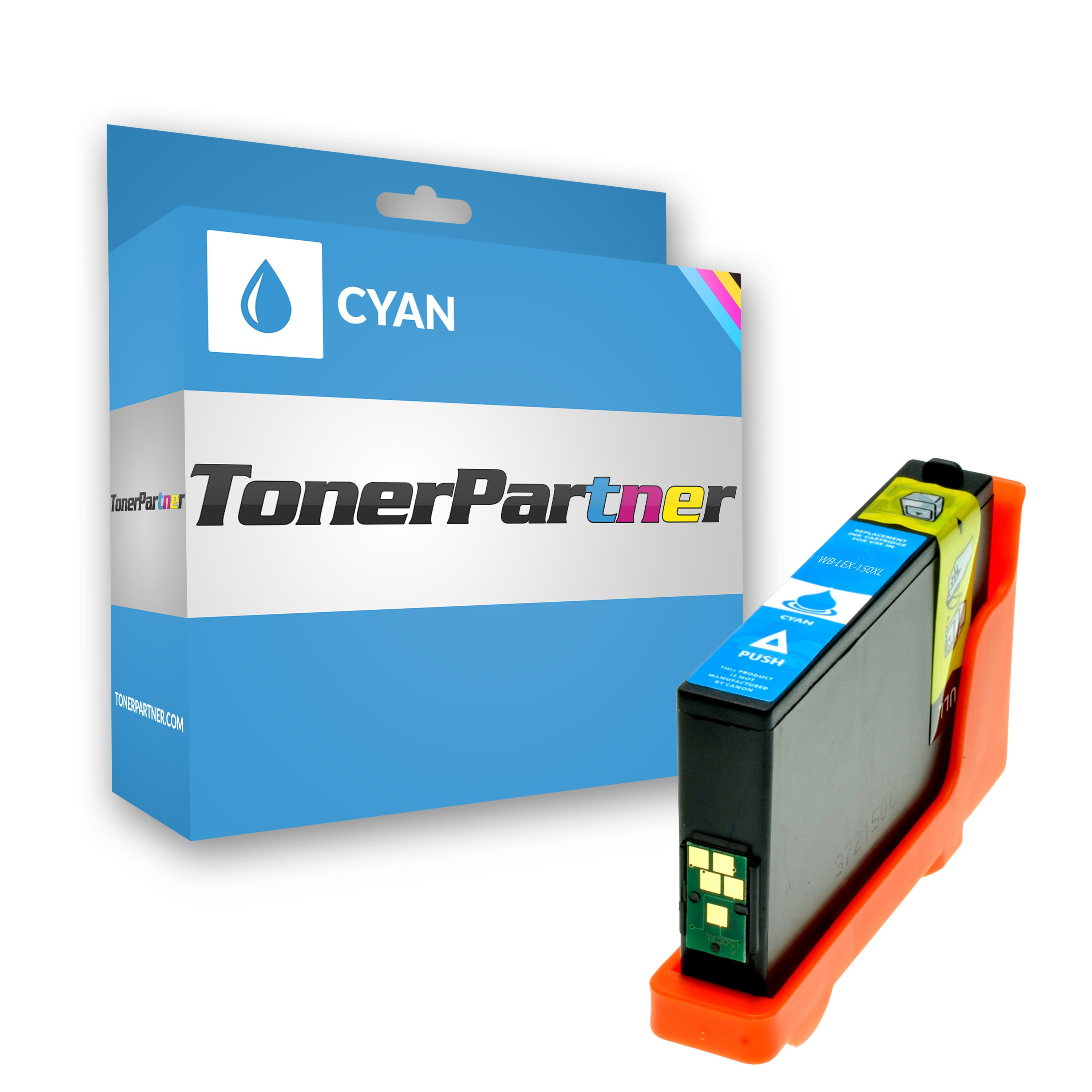 Compatible to Lexmark 14N1615E / 150XL Ink cartridge cyan