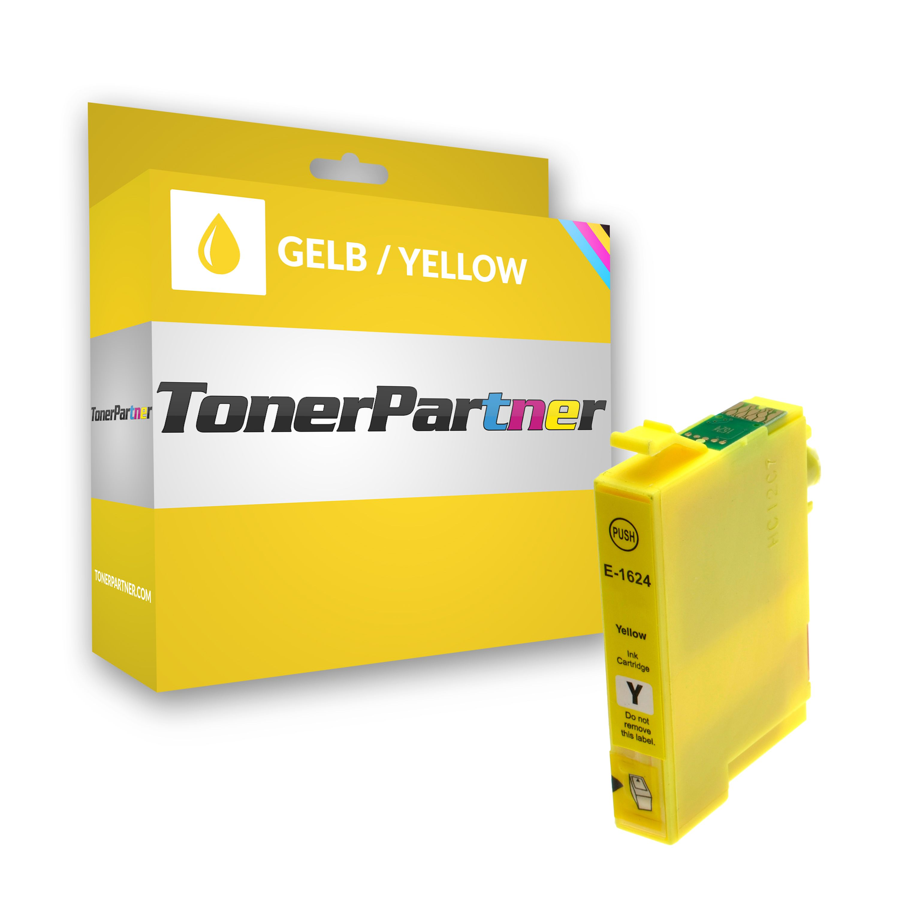 Compatible to Epson C13T16244010 / 16 Ink cartridge yellow