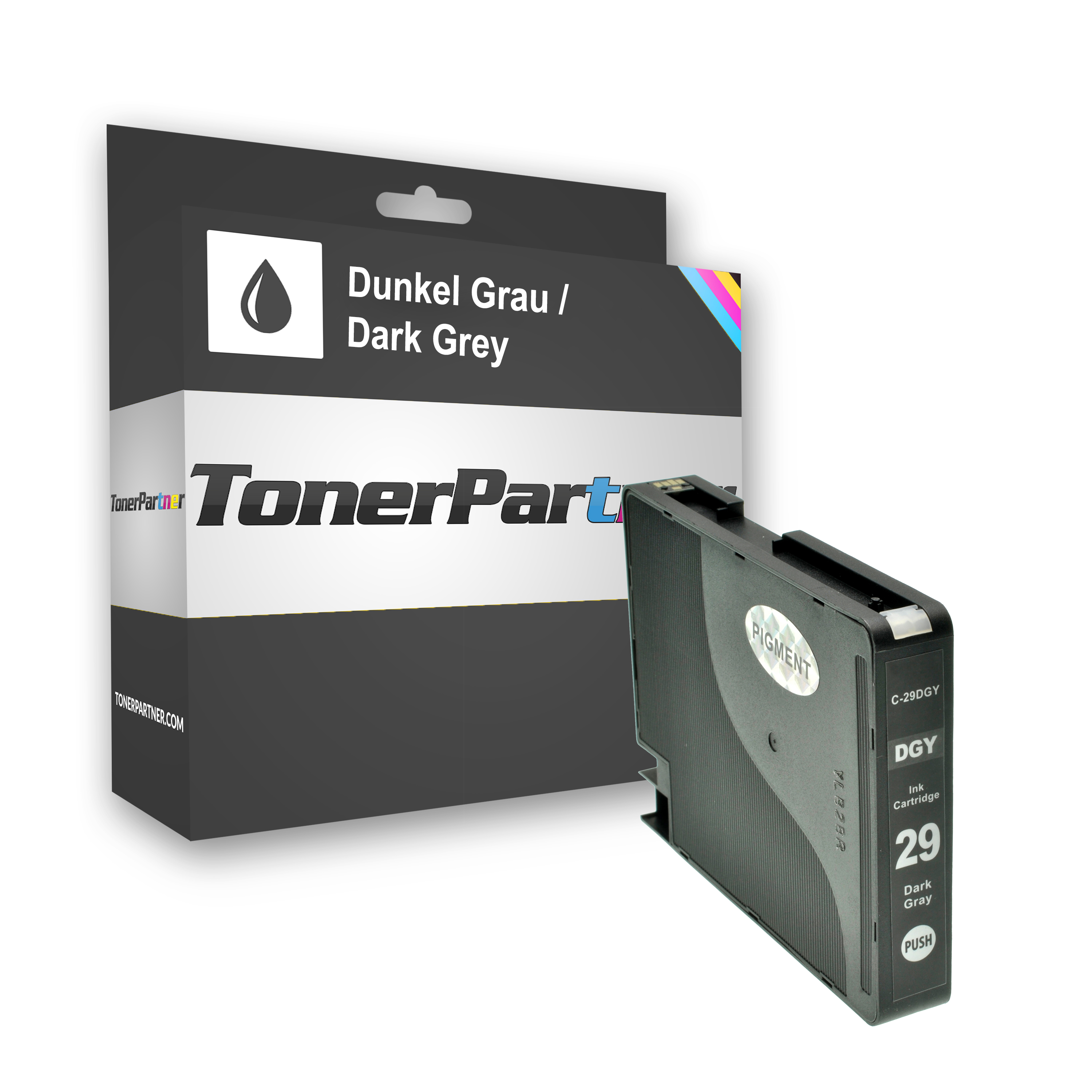 Compatible to Canon 4870B001 / PGI29DGY Ink cartridge gray