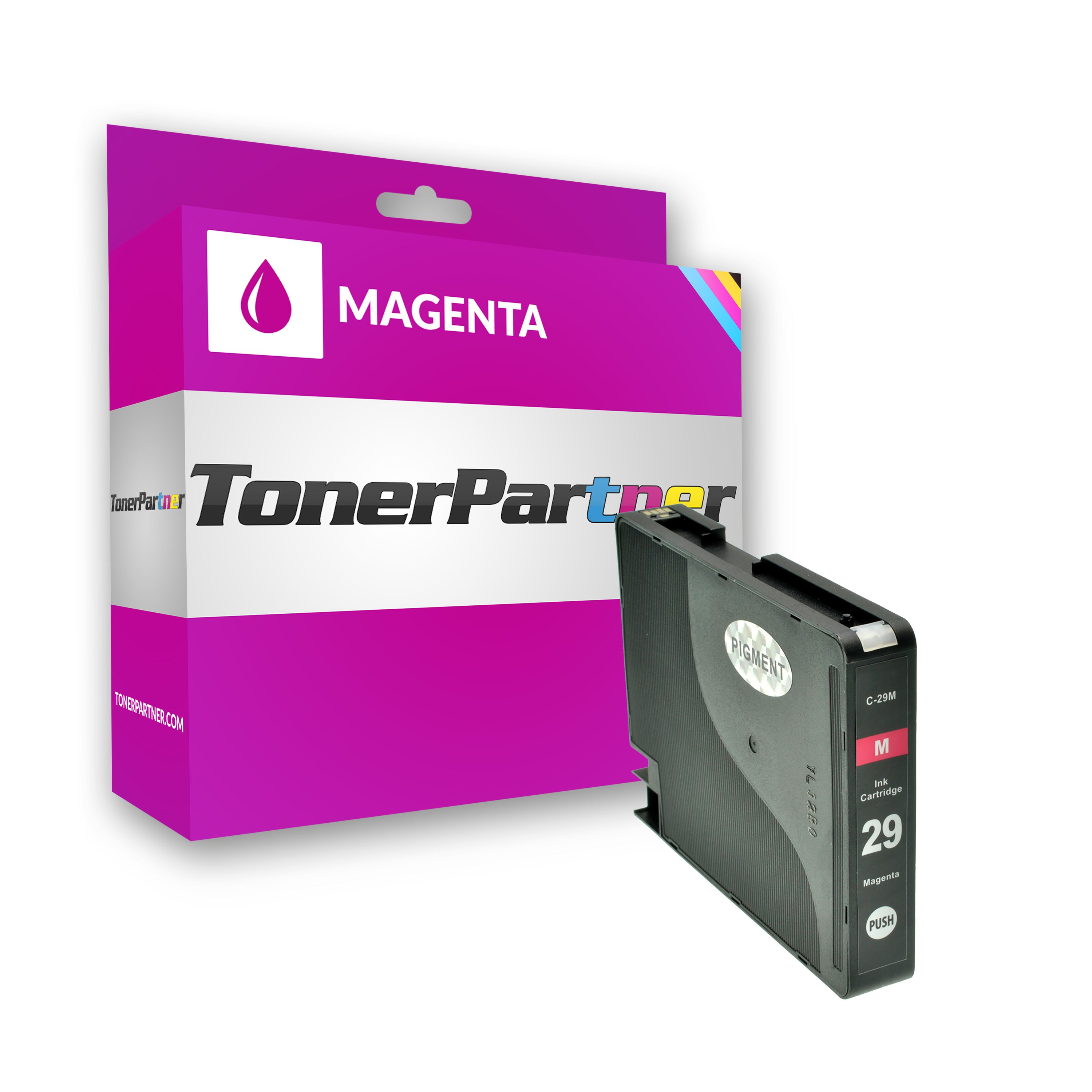 Compatible to Canon 4874B001 / PGI29M Ink cartridge magenta