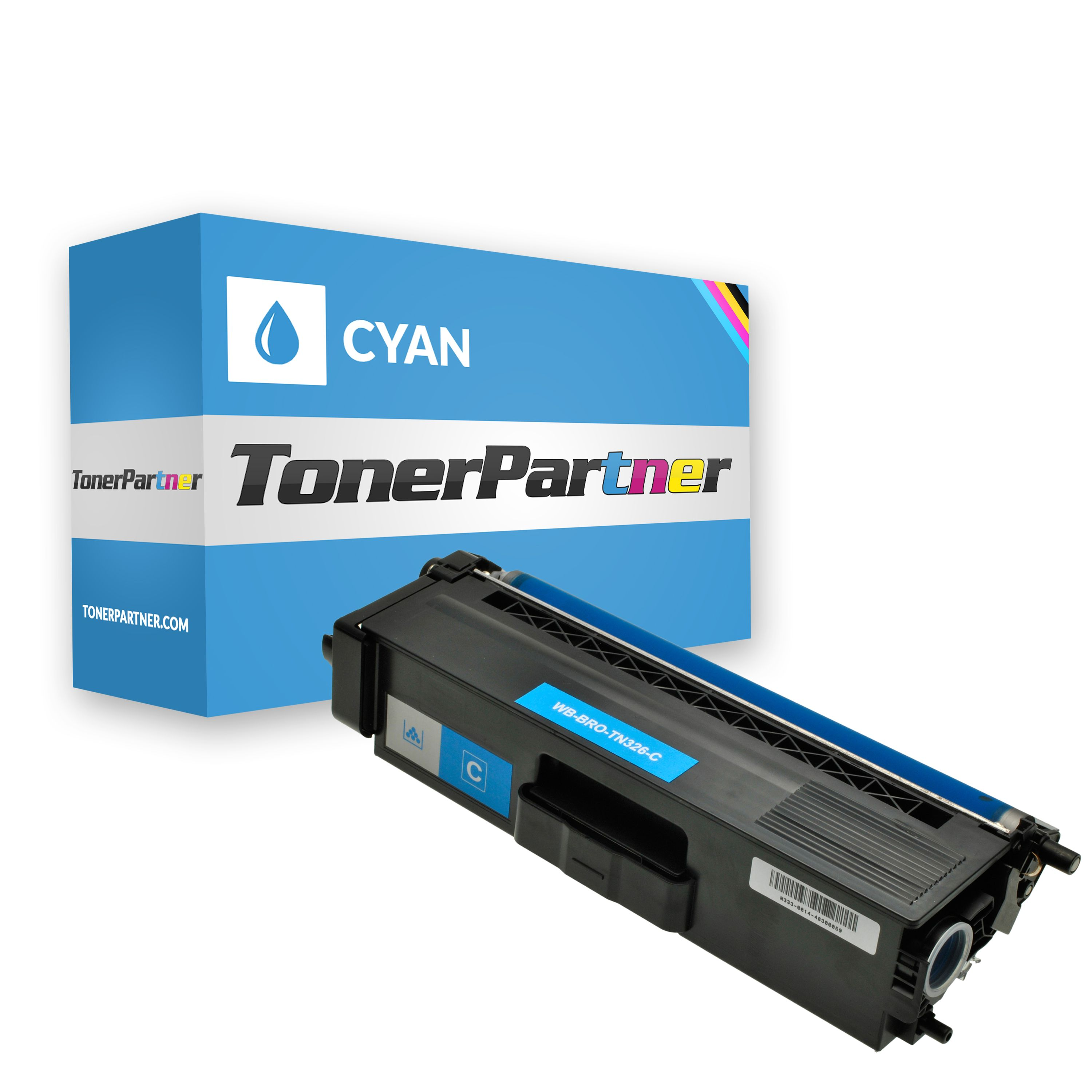 Brother TN-326C Toner cyan Kompatibel