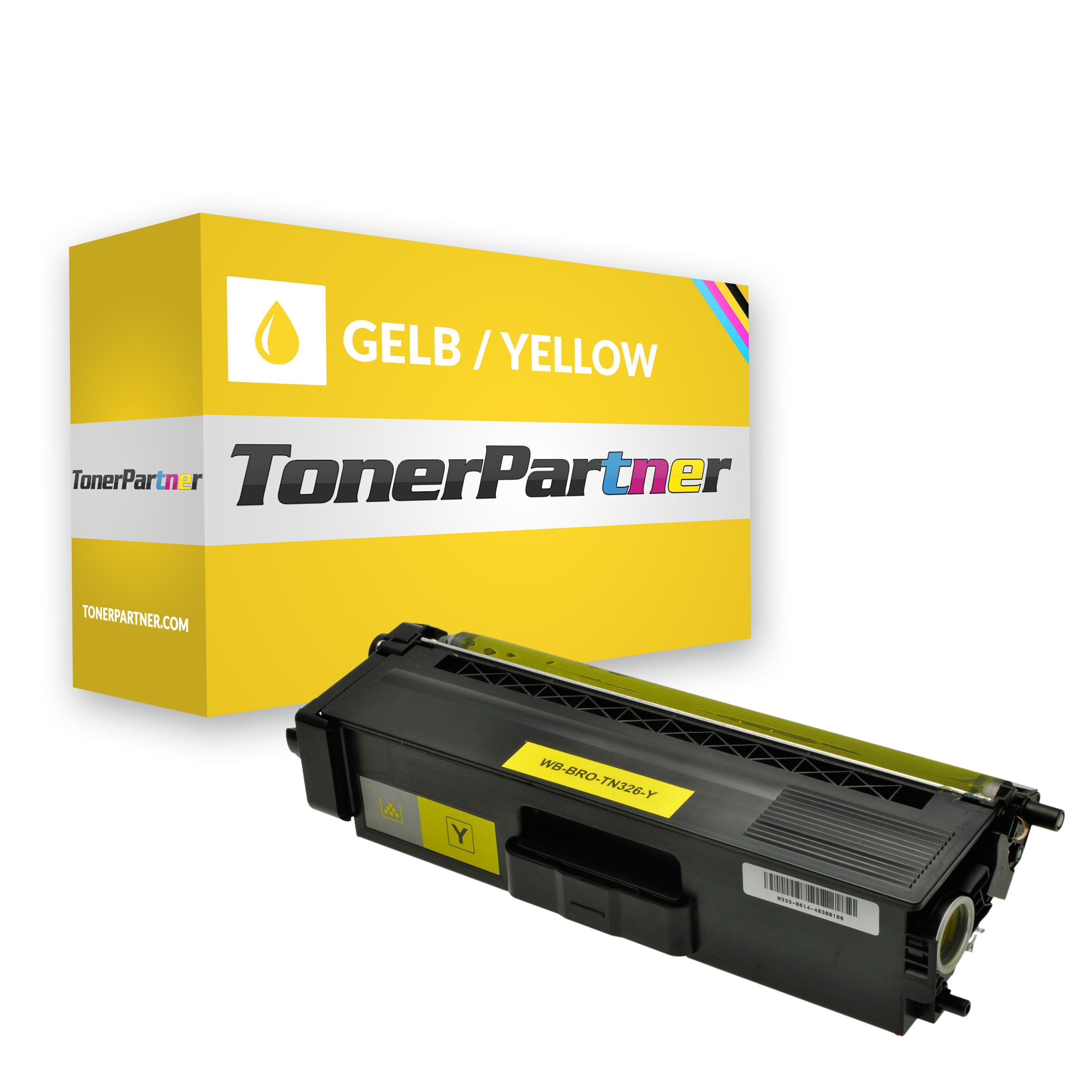 Brother TN-326Y Toner gelb Kompatibel