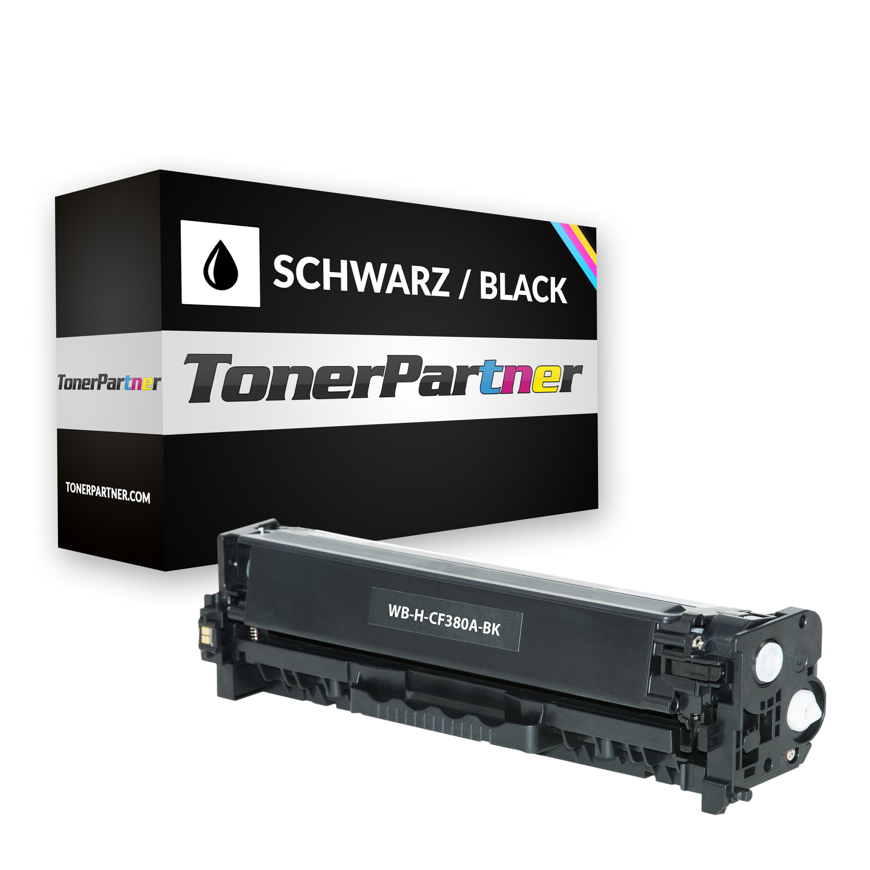 Compatible to HP CF380A / 312A Toner black