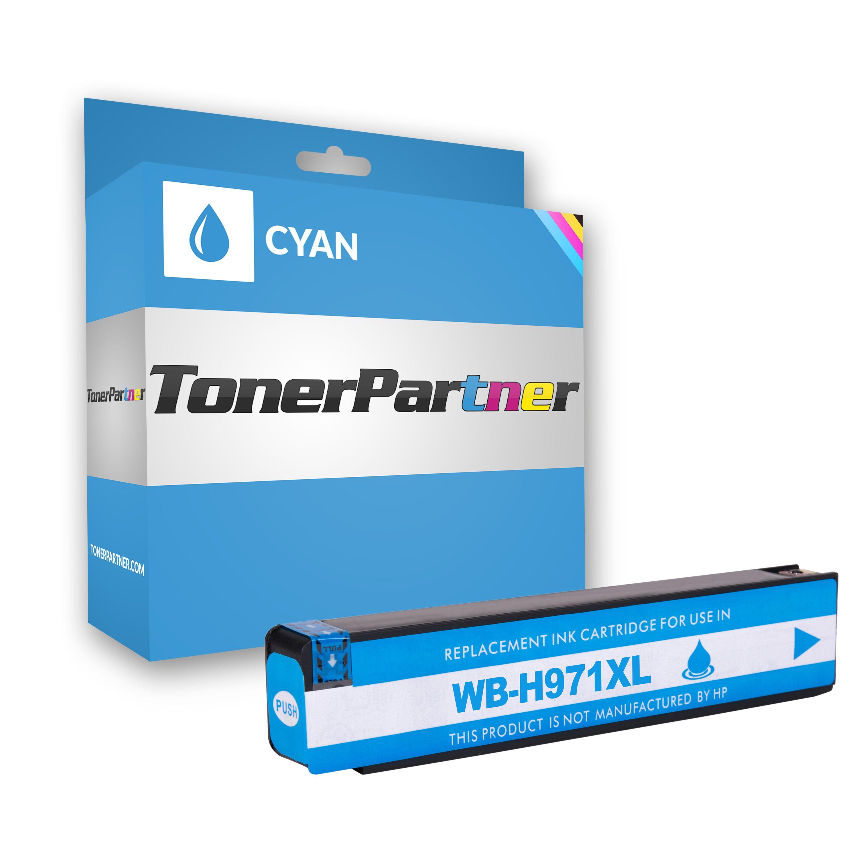 HP CN626AE / 971XL Tintenpatrone cyan Kompatibel