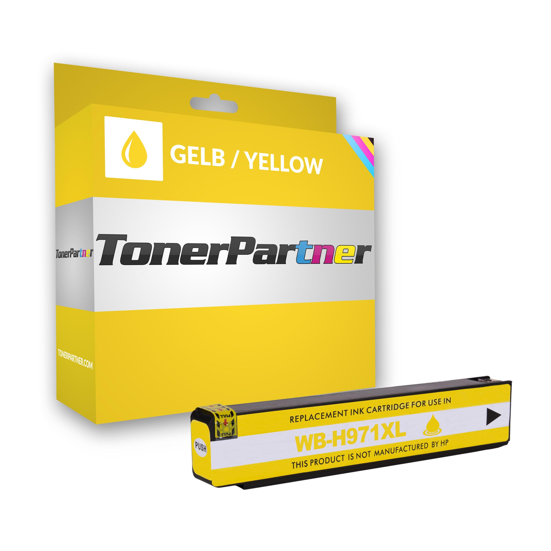 HP CN628AE / 971XL Tintenpatrone gelb Kompatibel