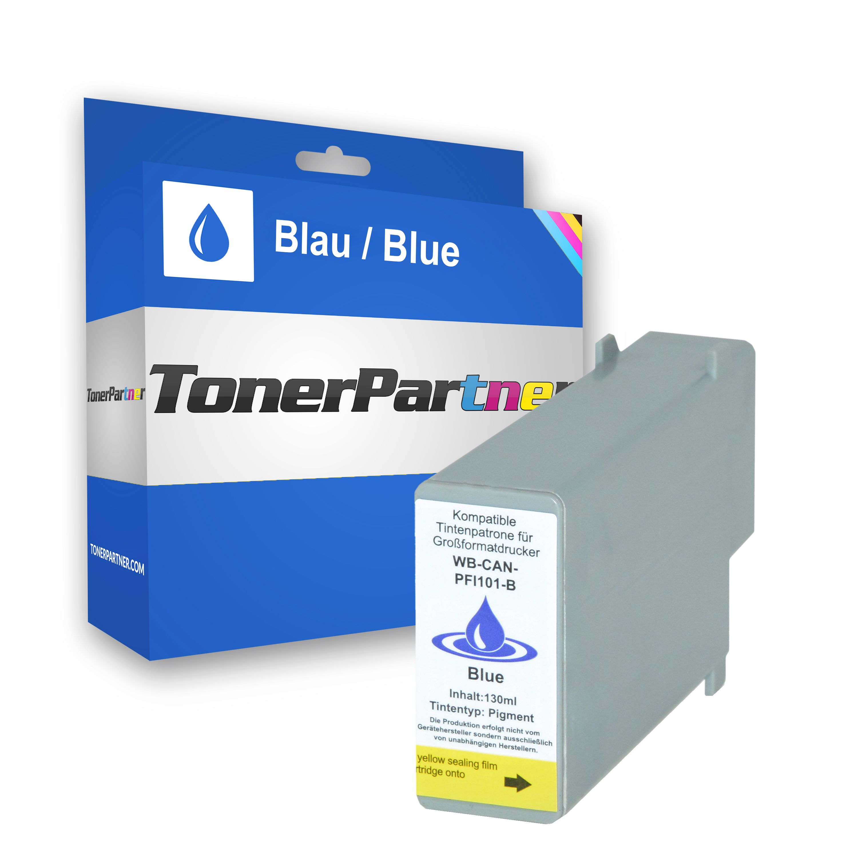 Canon 0891B001 / PFI-101 B Tintenpatrone blau Kompatibel