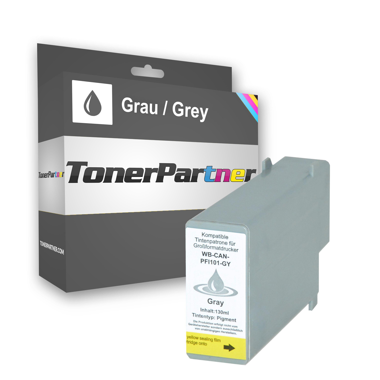 Kompatibel zu Canon 0892B001 / PFI-101 GY Tintenpatrone Grau