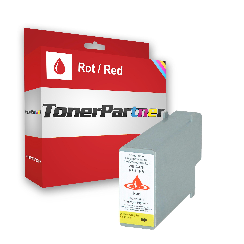 Canon 0889B001 / PFI-101 R Tintenpatrone rot Kompatibel