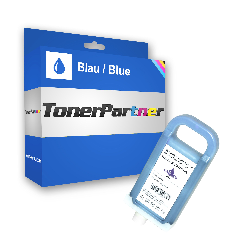 Kompatibel zu Canon 0908B001 / PFI-701B Tintenpatrone blau
