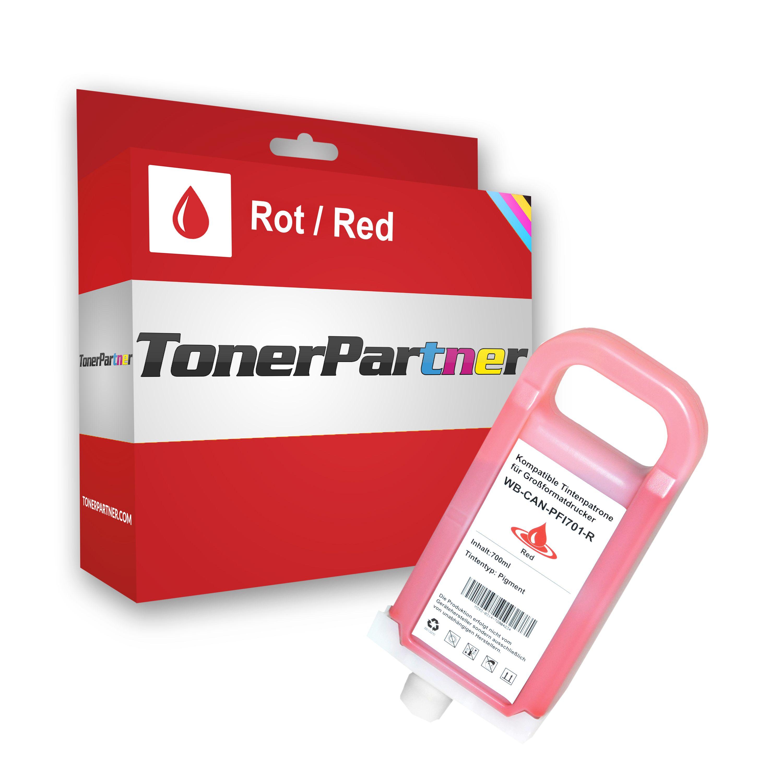 Kompatibel zu Canon 0906B001 / PFI-701R Tintenpatrone rot