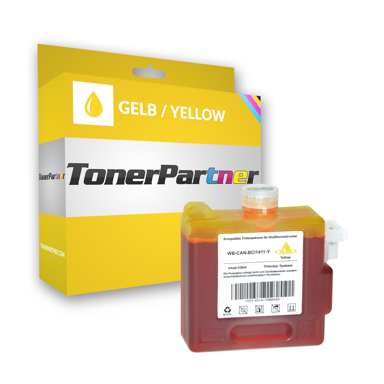 Canon 7577A001 / BCI-1411 Y Tintenpatrone gelb Kompatibel