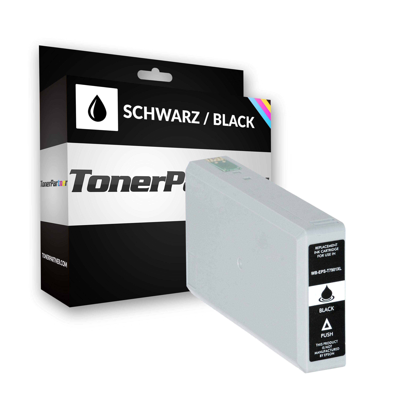 Epson C13T79014010 / 79XL Tintenpatrone schwarz Kompatibel