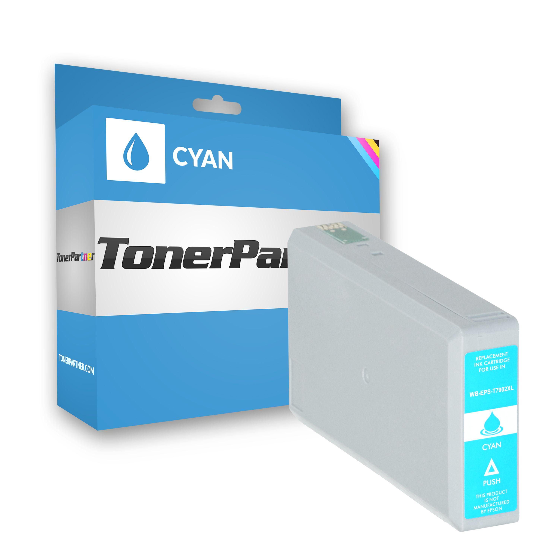 Epson C13T79024010 / 79XL Tintenpatrone cyan Kompatibel