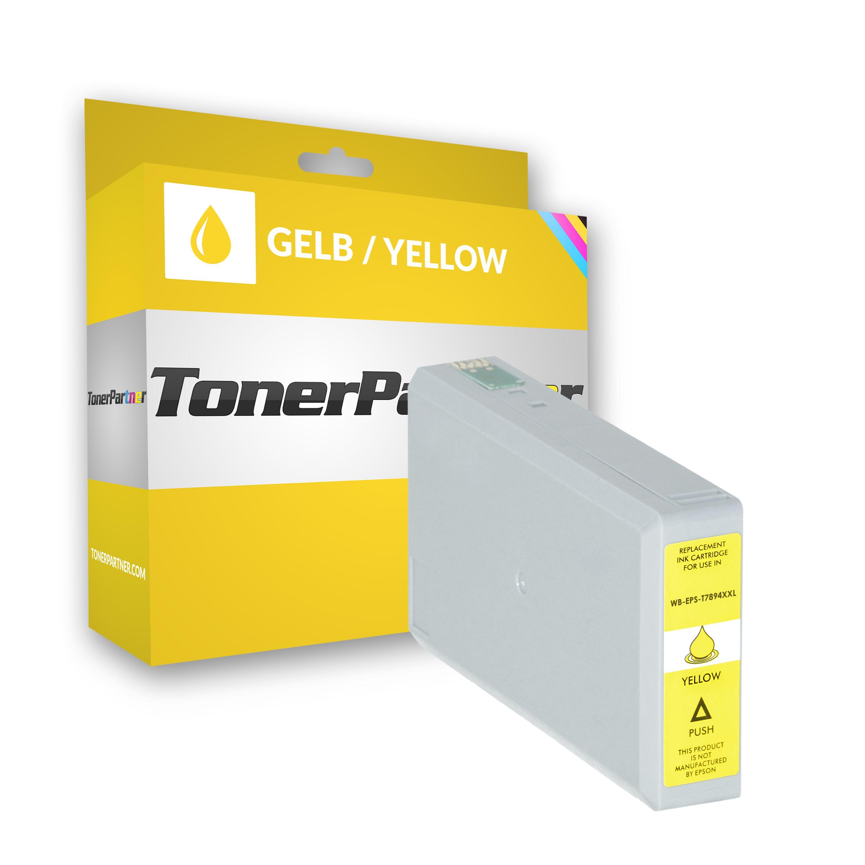 Epson C13T789440 / T7894 Tintenpatrone gelb XXL Kompatibel