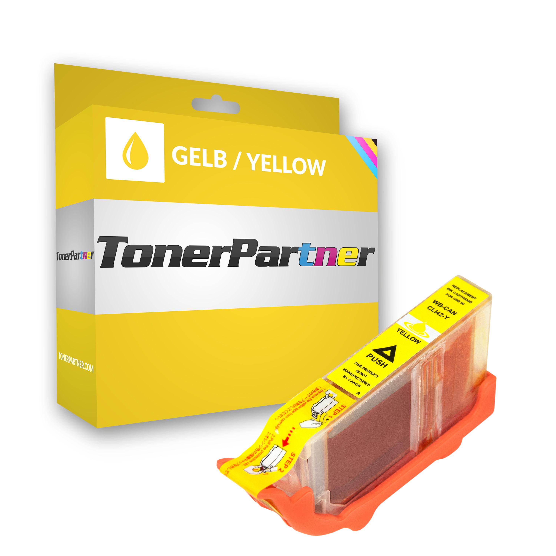Canon 6387B001 / CLI-42 Y Tintenpatrone gelb Kompatibel