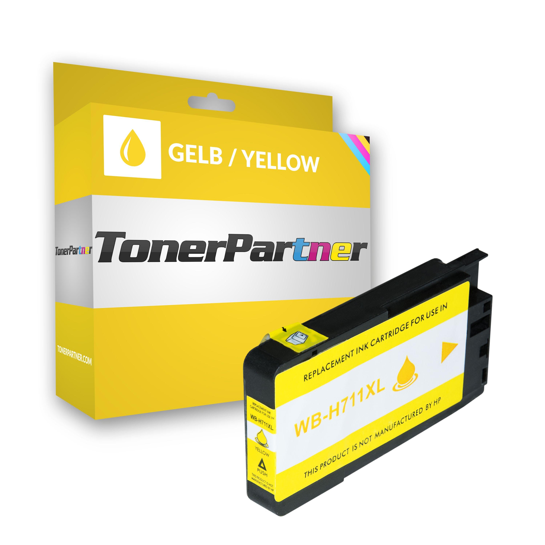 HP CZ132A / 711 Tintenpatrone gelb Kompatibel