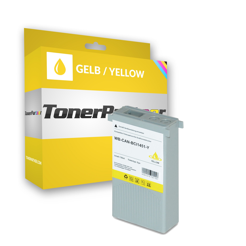 Canon 0173B001 / BCI-1451 Y Tintenpatrone gelb Kompatibel
