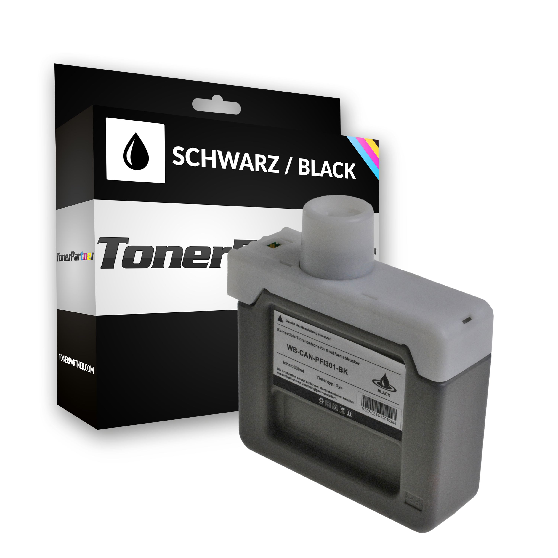 Kompatibel zu Canon 1486B001 / PFI-301 BK Tintenpatrone schwarz