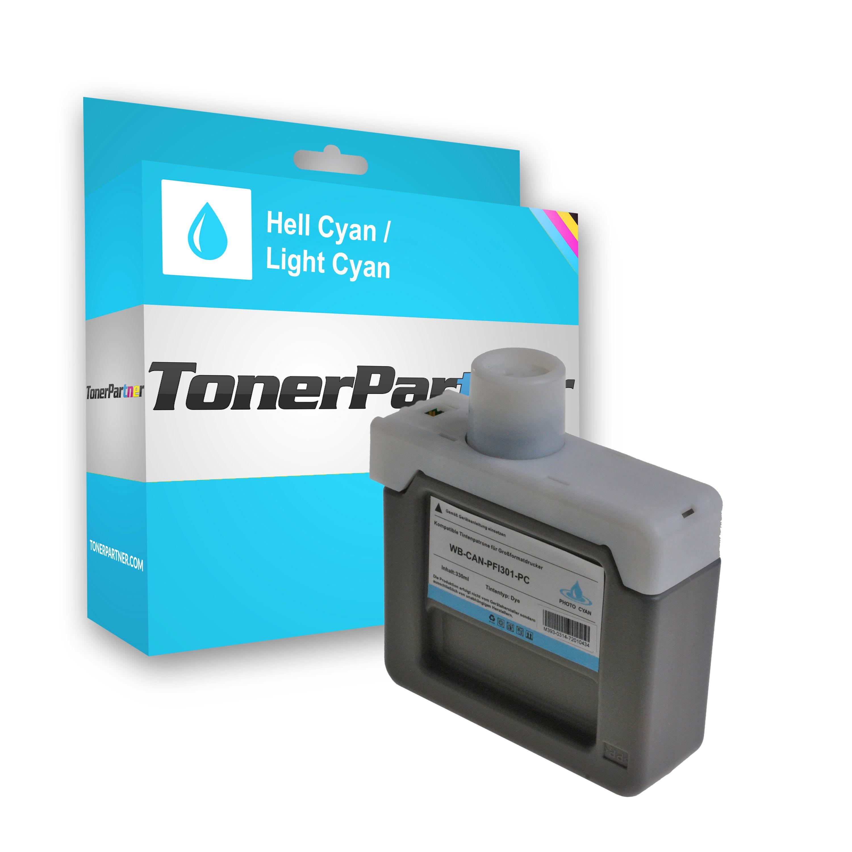 Kompatibel zu Canon 1490B001 / PFI-301 PC Tintenpatrone cyan hell