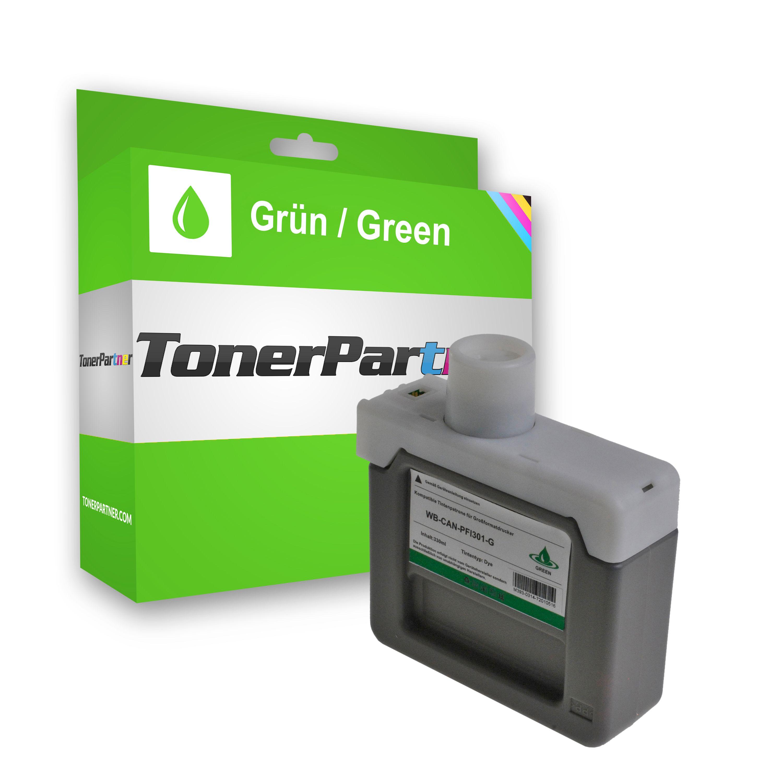 Kompatibel zu Canon 1493B001 / PFI-301 G Tintenpatrone grün