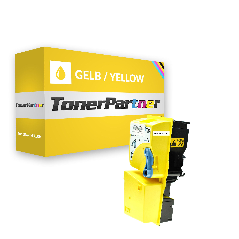 Kompatibel zu Kyocera 1T02HPAEU0 / TK-820 Y Toner Gelb