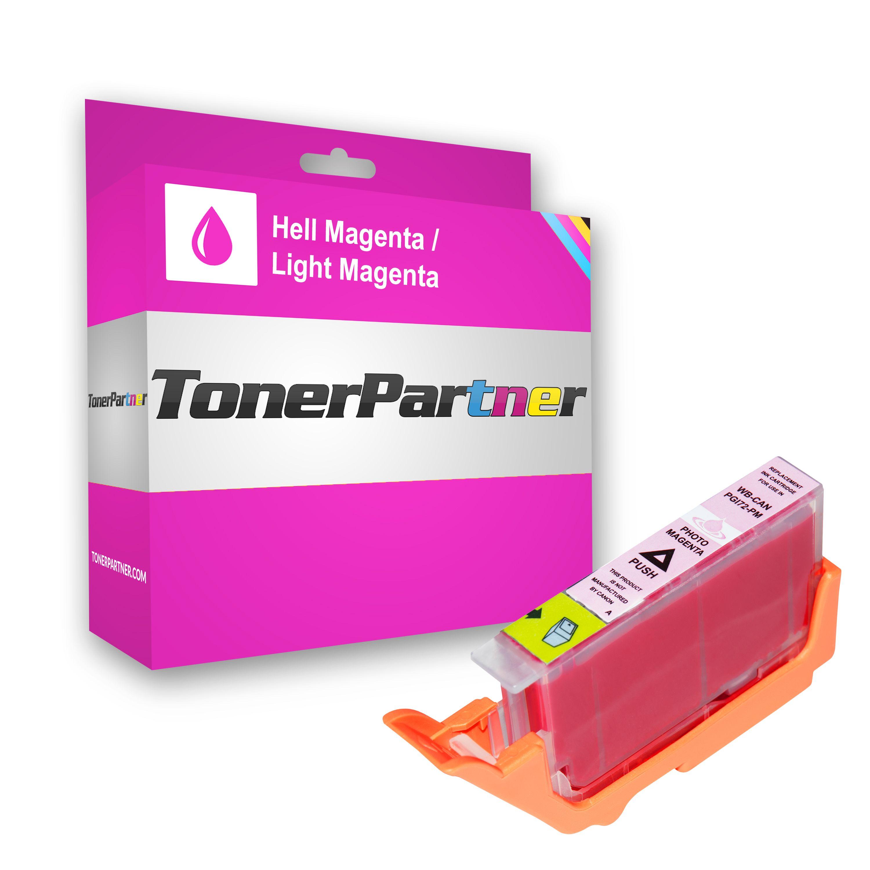 Canon 6408B001 / PGI-72 PM Tintenpatrone magenta hell Kompatibel