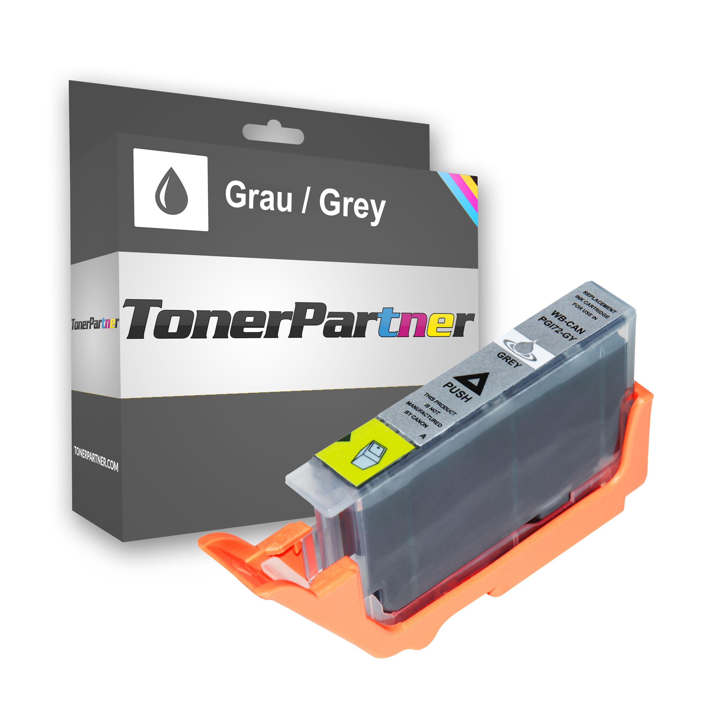 Canon 6409B001 / PGI-72 GY Tintenpatrone grau Kompatibel